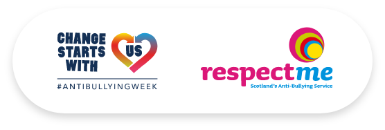Change Starts With Us and Respect Me logos